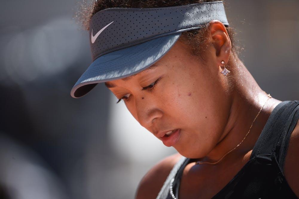 Naomi Osaka Roland Garros 2021 first round