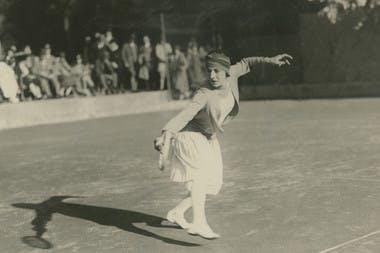 Roland-Garros Suzanne Lenglen Rétro