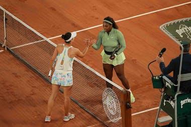 Serena Williams Irina Camelia Begu Roland-Garros 2021