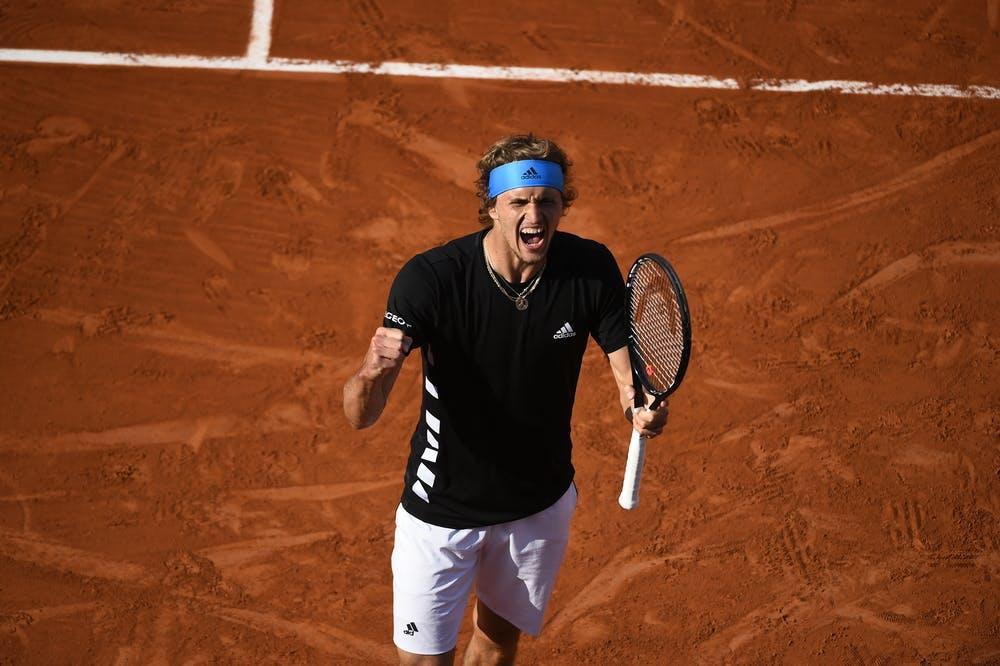 Alexander Zverev - Roland-Garros 2019 - huitième de finale
