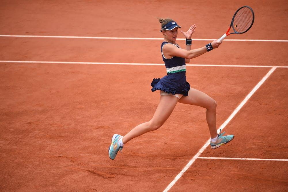 Nadia Podoroska, Roland Garros 2020, semi-finals