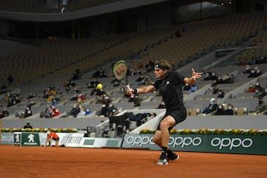 Stefanos Tsitsipas, Roland-Garros 2020, huitièmes de finale