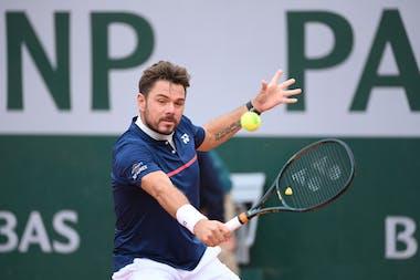 Stan Wawrinka, Roland-Garros 2020, 2e tour