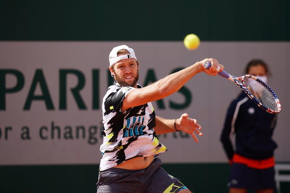 Jack Sock, Roland-Garros 2020, qualifying