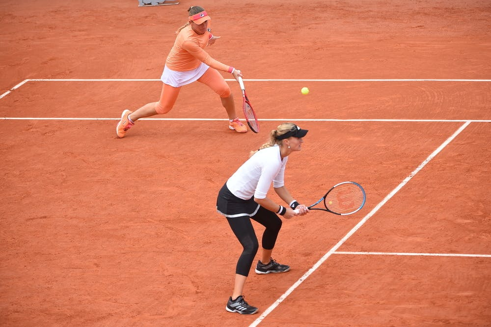 Timea Babos, Kristina Mladenovic, Roland Garros 2020, doubles semi-finals
