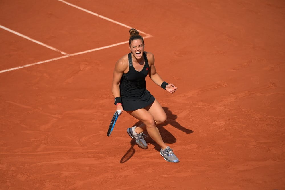 Maria Sakkari, roland-Garros 2021, last 16
