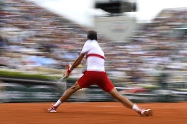 Novak Djokovic revers backhand