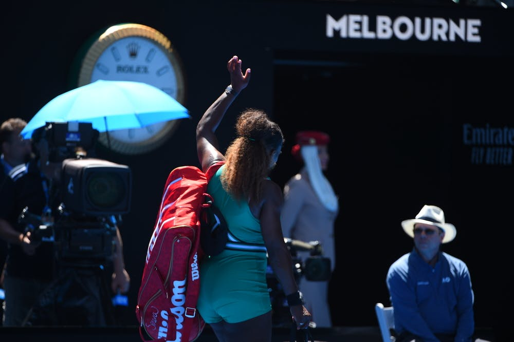 Serena Williams says bye bye to the 2019 Australian Open