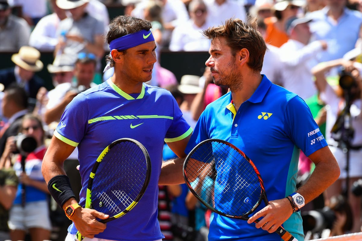 Rafael Nadal Stan Wawrinka Roland-Garros 2017