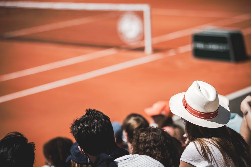 Spectateurs Tribunes Roland-Garros