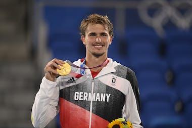 Alexander Zverev / Gold medal Tokyo 2020