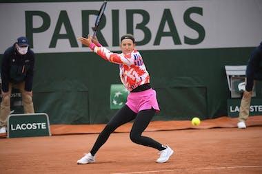 Victoria Azarenka, Roland Garros 2020, first round
