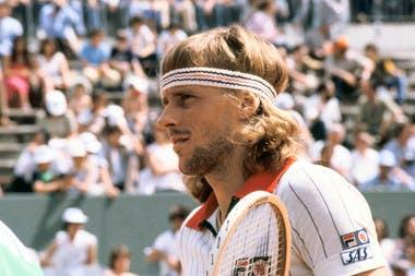 Entre 1974 et 1981, Björn Borg a remporté six éditions de Roland-Garros
