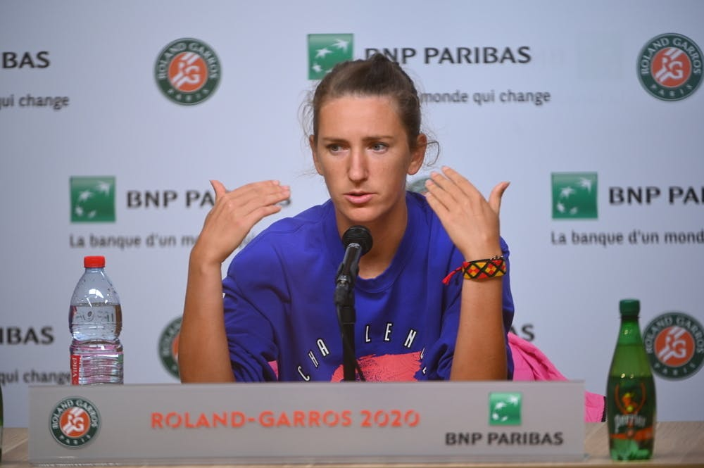 Victoria Azarenka, Roland-Garros 2020, Media Day, vendredi 25 septembre