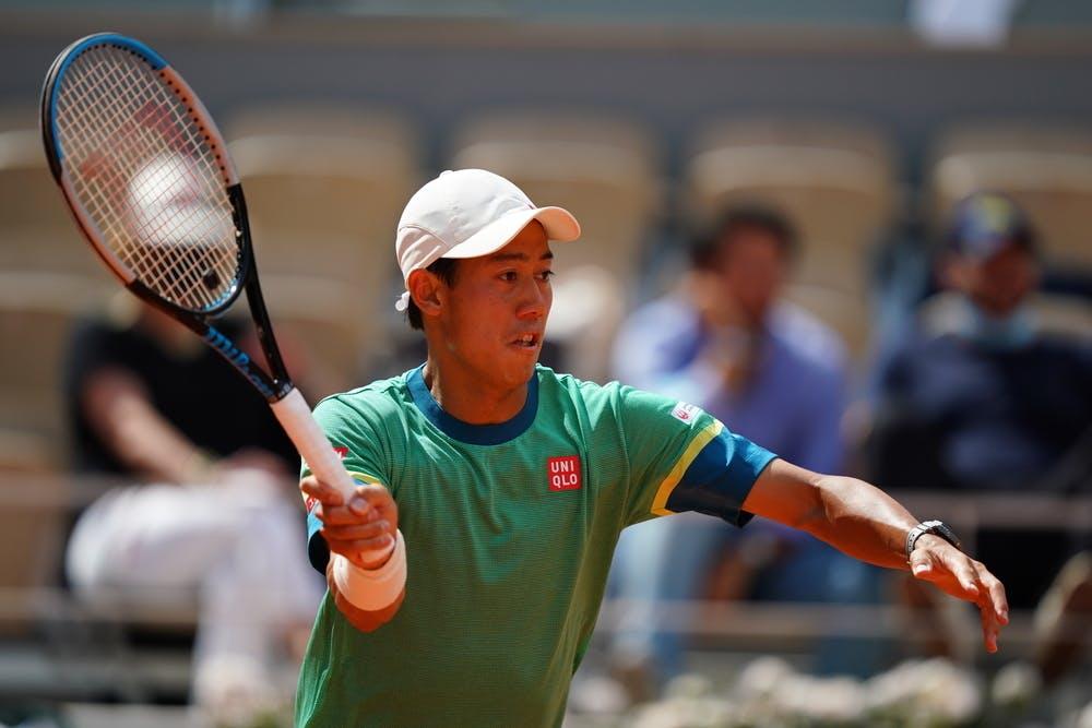Kei Nishikori, Roland Garros 2021, second round