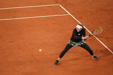Jelena Ostapenko, Roland-Garros 2020, 2e tour