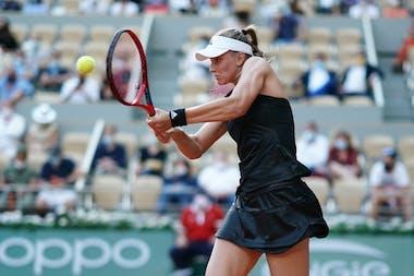 Elena Rybakina, Roland Garros 2021, fourth round