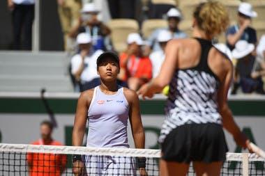 Naomi Osaka Katerina Siniakova Roland Garros 2019 third round