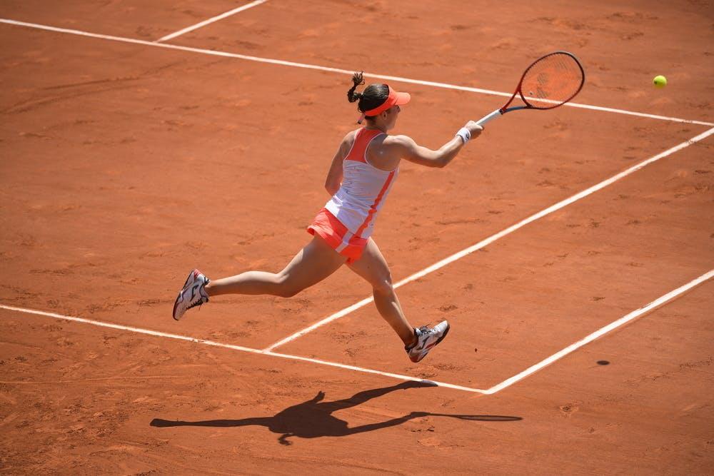 Tamara Zidansek, Roland Garros 2021, quarter-final