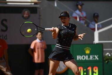 Simona Halep - Roland-Garros 2019 - 3e tour