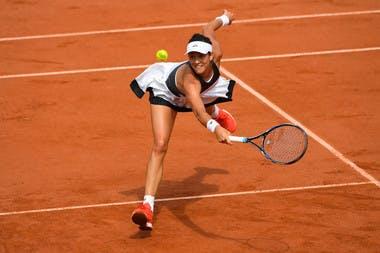 Garbiñe Muguruza Roland-Garros 2017.