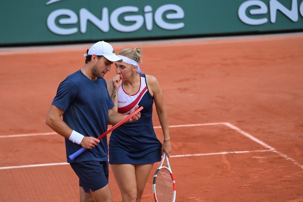 Elena Vesnina et Aslan Karatsev, Roland-Garros 2021
