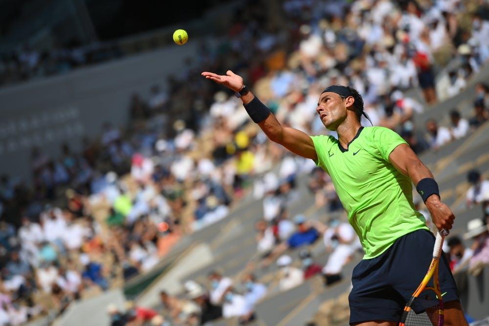 Rafael Nadal, Roland-Garros 2021, quarter-final