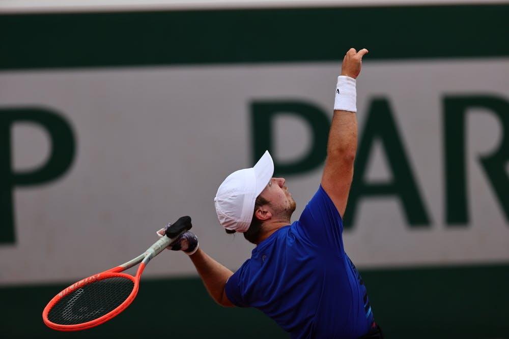 Sam Schroder, Roland-Garros 2021, men's quad singles semi-final