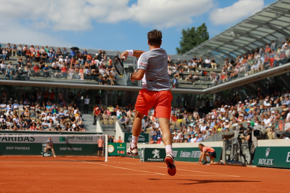 Stan Wawrinka - Roland-Garros 2019 - Court Simonne-Mathieu