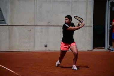Carla Suarez Navarro, Roland Garros 2021, practice