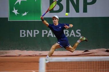 Evan Furness Roland Garros 2021