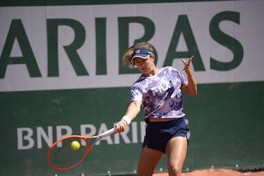 Nadia Podoroska, Roland Garros 2021, practice