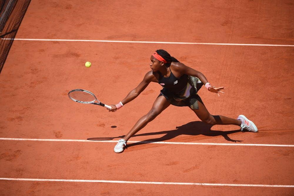 Coco Gauff, Roland-Garros 2021, last 16