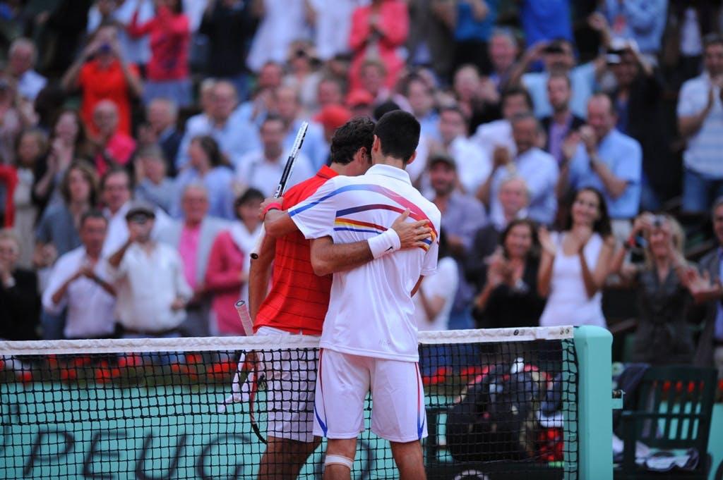 Roger Federer, Novak Djokovic, Roland Garros 2011 semi-finals
