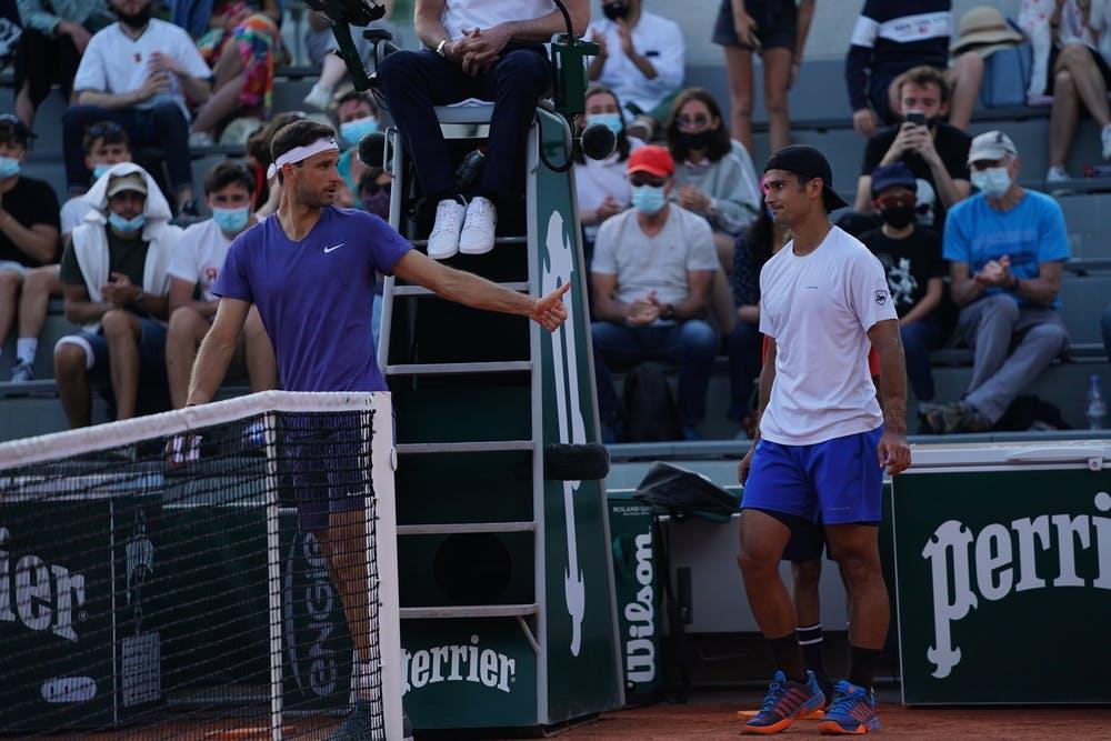 Grigor Dimitrov, Roland-Garros 2021 first round