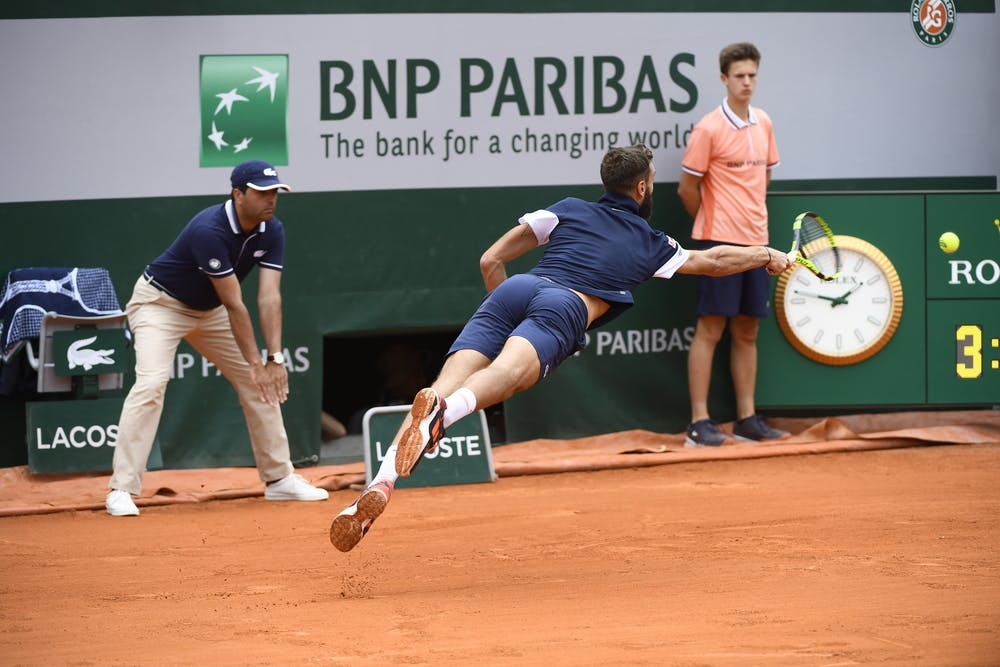 Benoit Paire Roland-Garros 2019