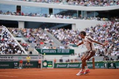 Roger Federer - Roland-Garros 2019 - 2e tour