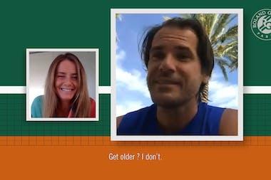 Chatting with Daniela Hantuchova: Tommy Haas