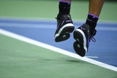 Chaussures Rafa Nadal / Tournée Américaine