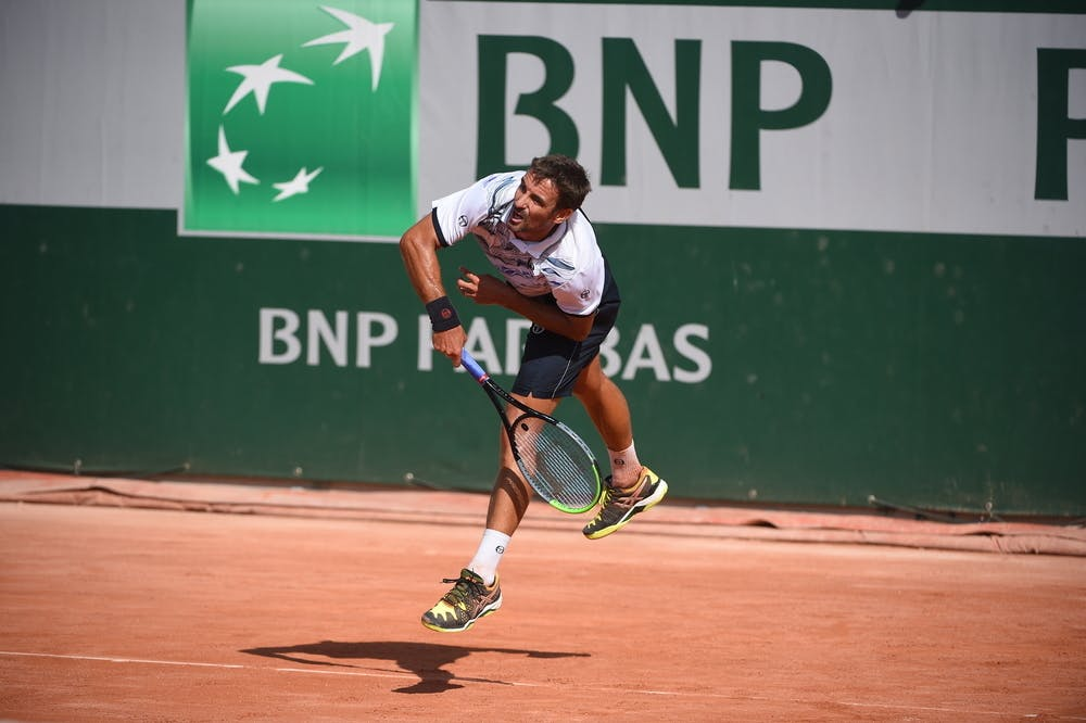 TOMMY ROBREDO, ROLAND-GARROS 2020, SIMPLE MESSIEURS