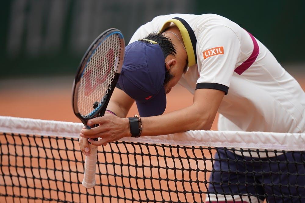 Kei Nishikori, Roland Garros 2020, first round