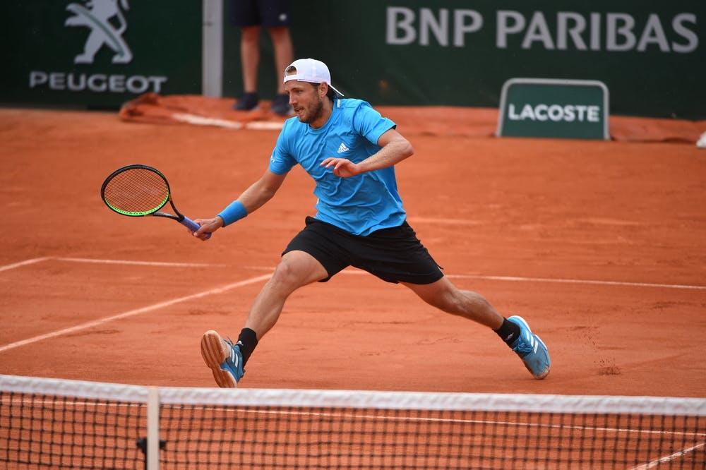 Lucas Pouille Roland-Garros 2019