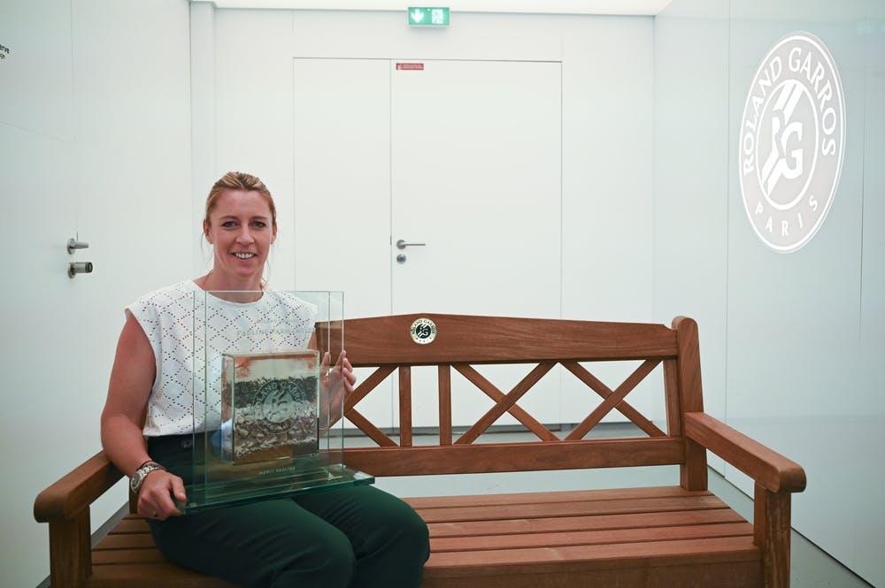 Pauline Parmentier, award, Roland-Garros 2021