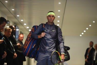 Rafael Nadal locker-room