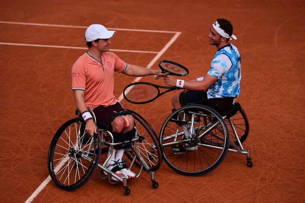 Gordon Reid, Alfie Hewett, Roland-Garros 2021, men's doubles semi-finals