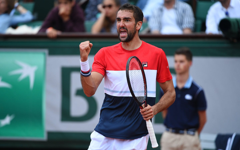 Roland-Garros 2018, 8e de finale, Marin Cilic