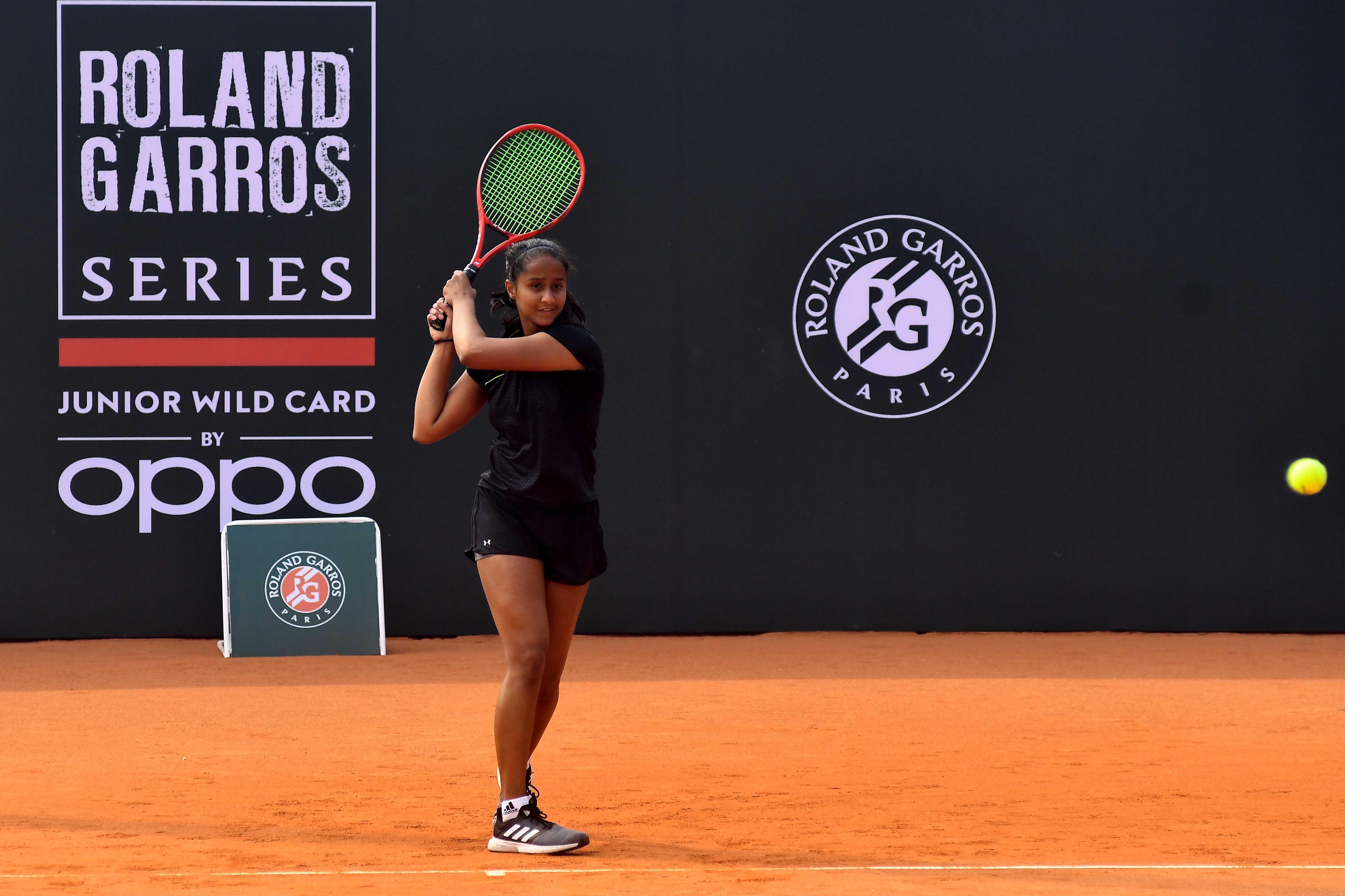 Vaishnavi Adkar Roland-Garros wild card series by OPPO