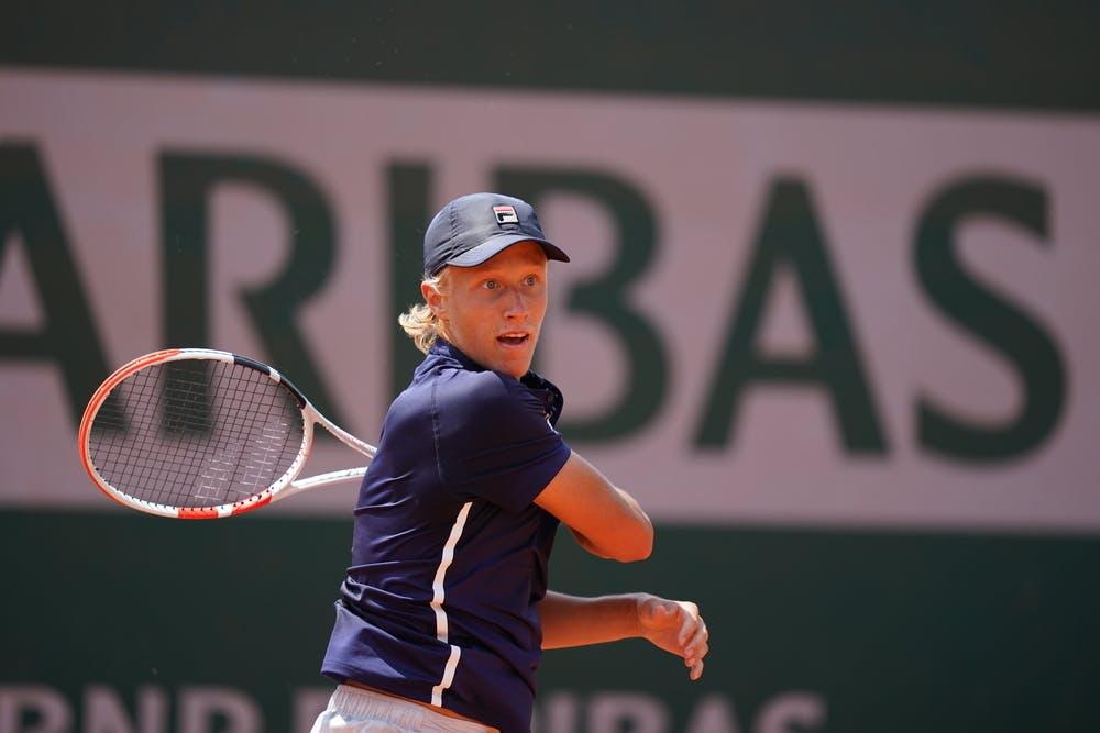 Leo Borg, Roland Garros 2021, boys' singles second round