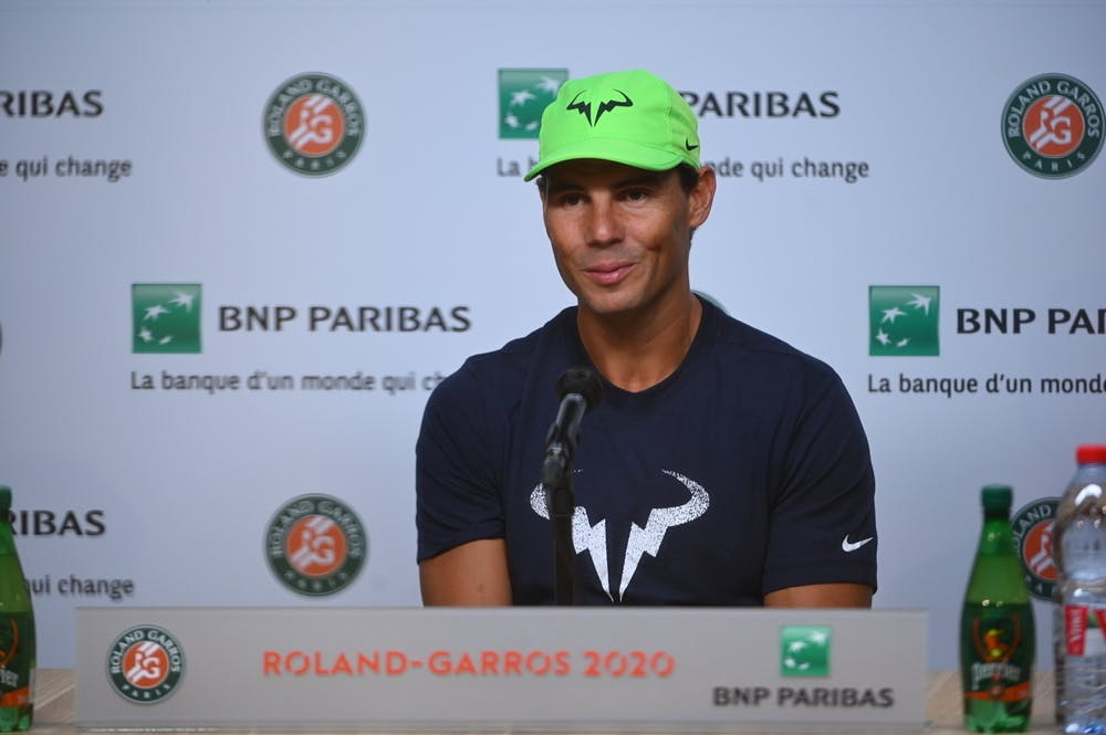Rafael Nadal, Roland Garros 2020, pre-tournament press conference