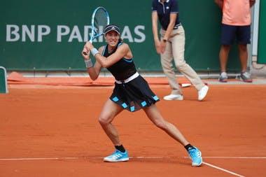 Garbine Muguruza third round Roland Garros 2019
